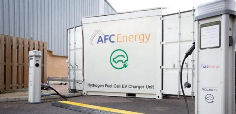 二号站平台测速充电8分钟,续航100公里!AFC Energy将与ABB合作建设由燃料电池驱动的超级充电站